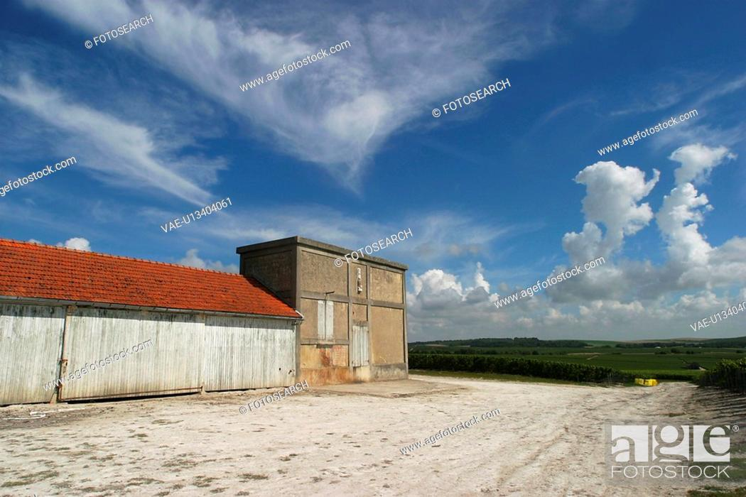 Stock Photo: concrete, cement, storehouse, rough, close-up, outdoors.