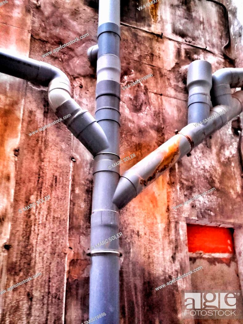 Stock Photo: Pipelines.