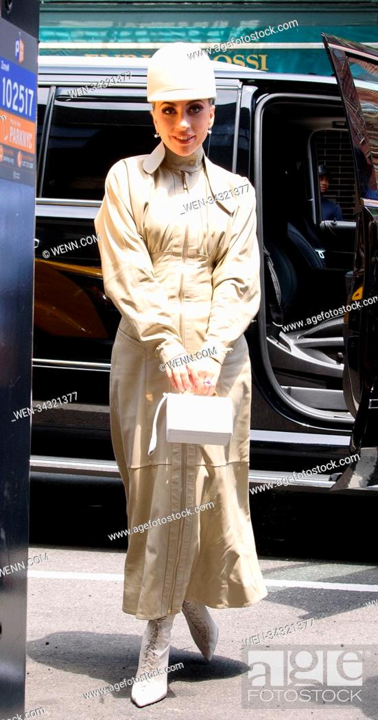 Stock Photo: Lady Gaga Sighting in NYC Featuring: Lady Gaga Where: New York, New York, United States When: 30 May 2018 Credit: WENN.com.