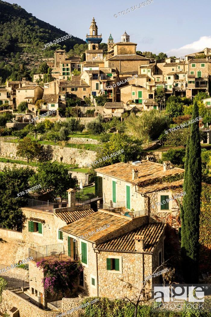 Stock Photo: Cartuja , Valldemossa, Sierra de Tramuntana, Mallorca, Balearic Islands, spain, europe.