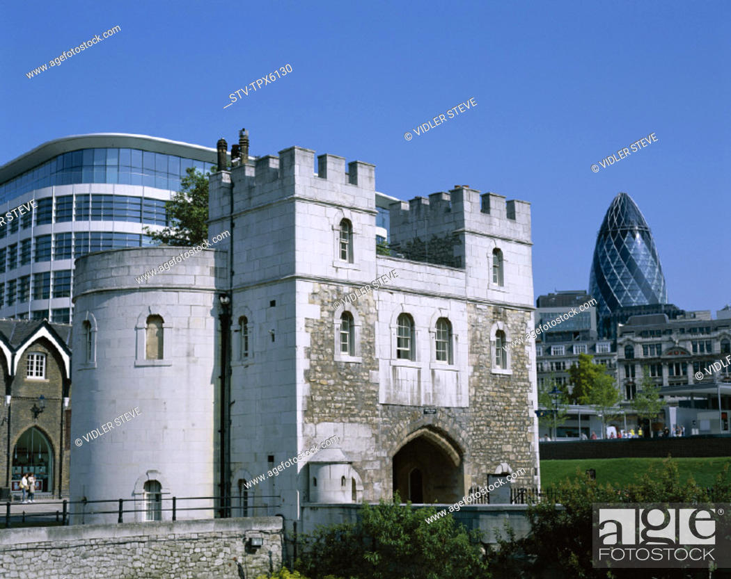 Imagen: Architect, England, United Kingdom, Great Britain, Foster, Gherkin, Holiday, Landmark, London, Middle gate, Norman, Sir, Swiss,.