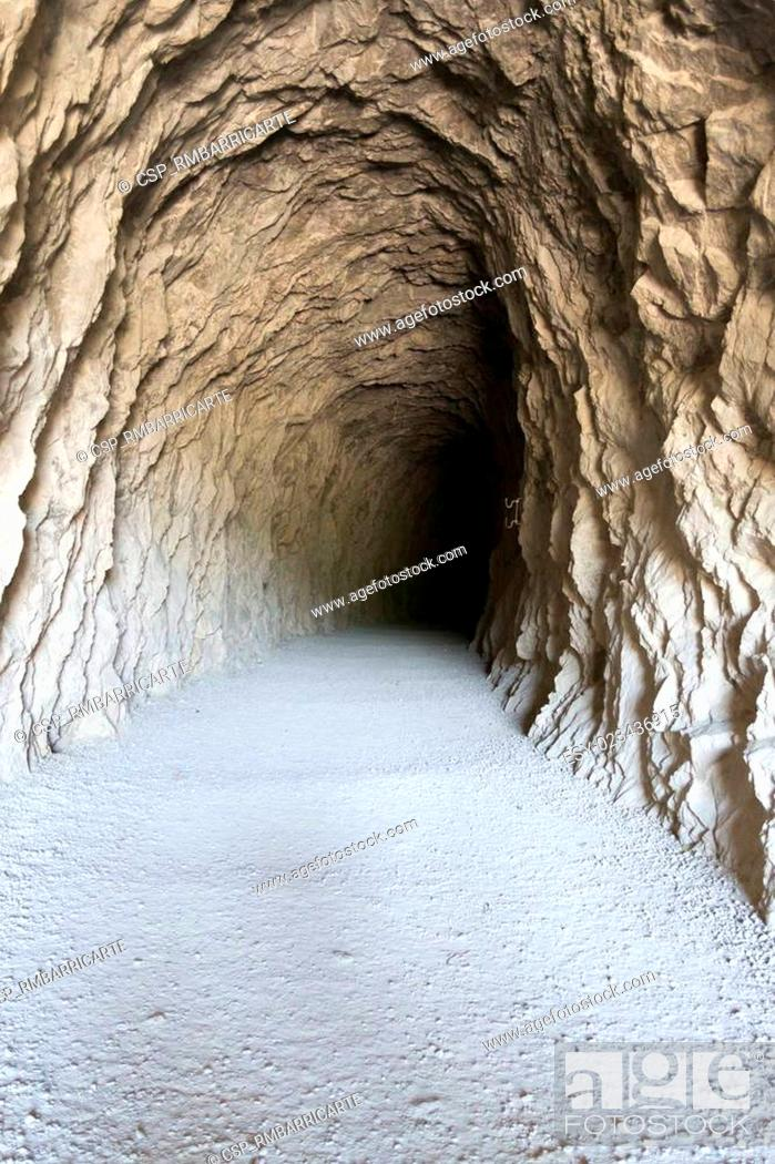 Stock Photo: Tunel to the darkness.