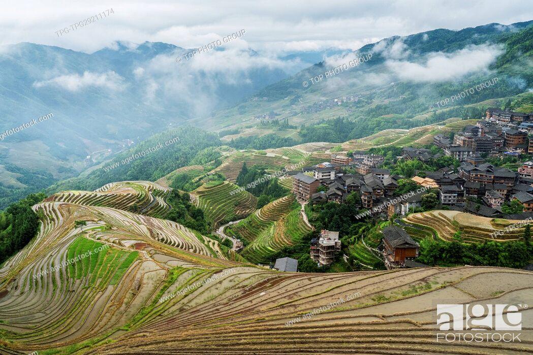 Imagen: Longji Rice Terraces;Guilin;China.