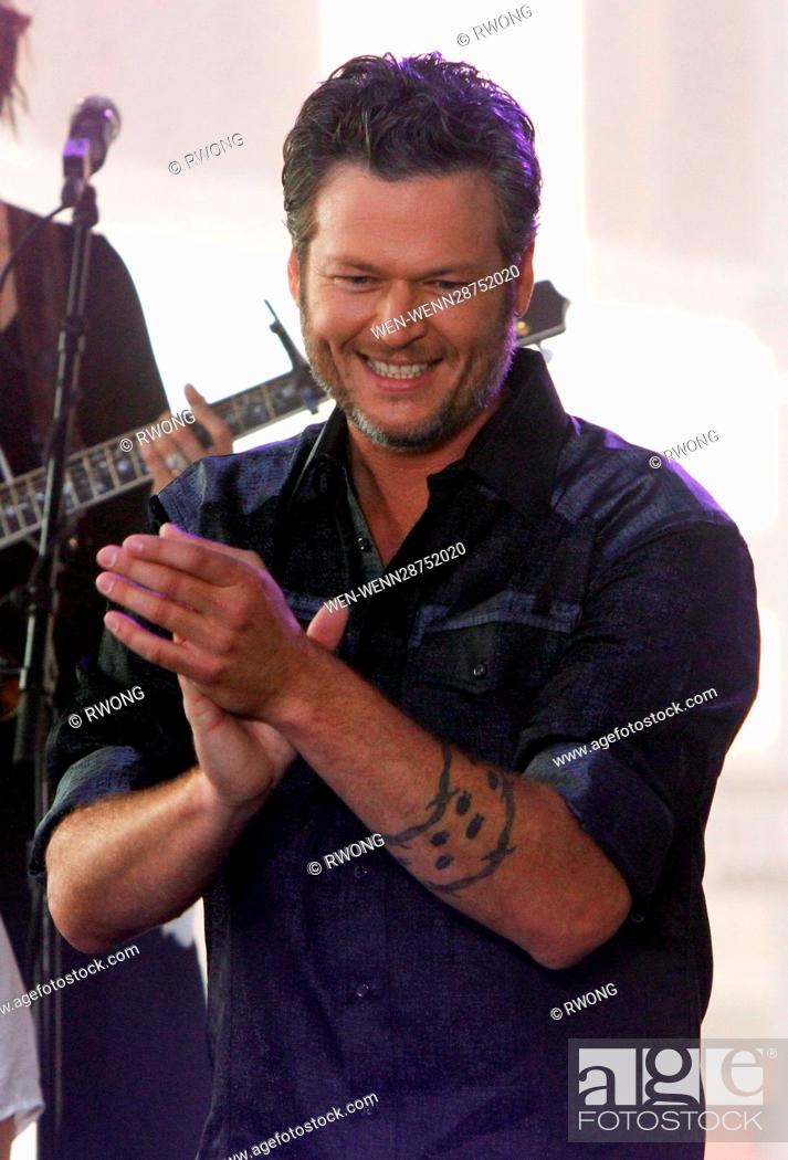 Today Show Summer Concert Series 2020.Blake Shelton Performs Live At Nbc Today Show Summer