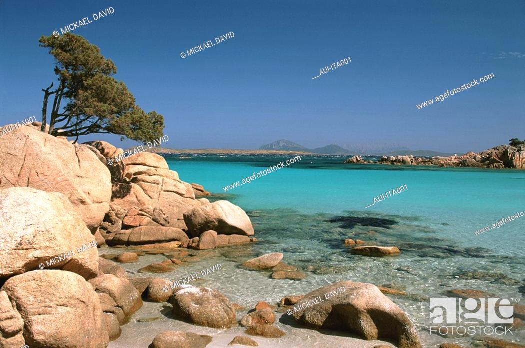 Stock Photo: Italia - Sardinia - Smeralda Coast.