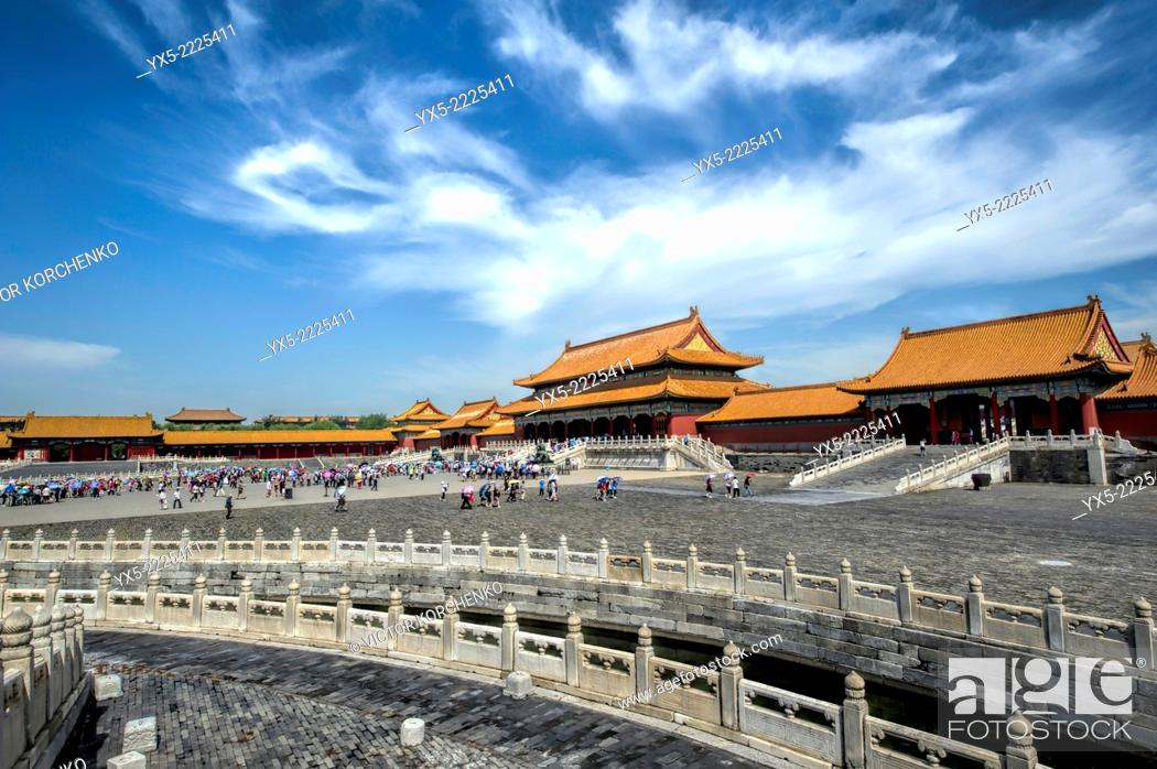 Stock Photo: Forbidden City, Beijing.