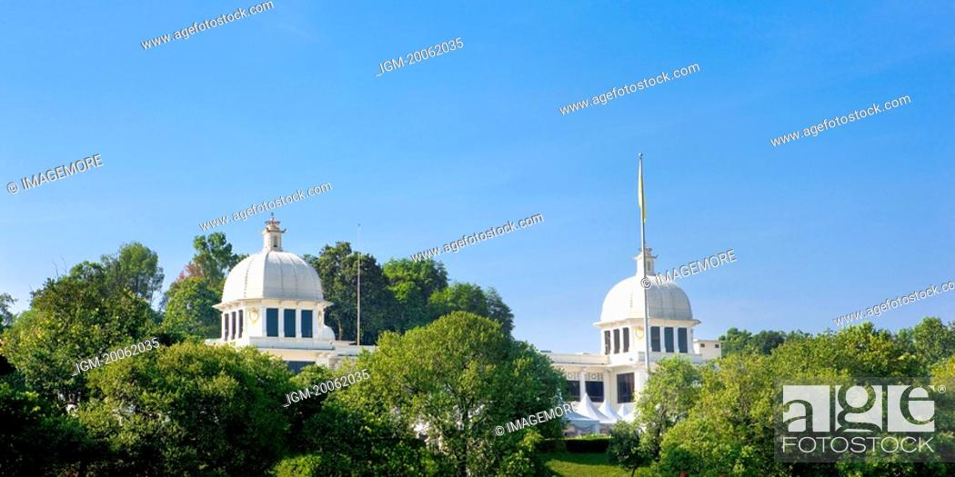 Stock Photo: Malaysia, Kuala Lumpur, King Palace.
