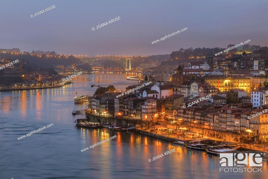 Stock Photo: Porto, Norte, Portugal, Europe.