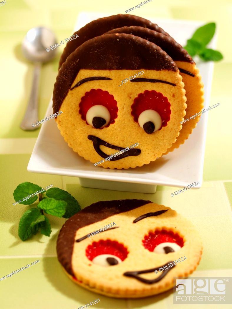 Stock Photo: Funny cookies.