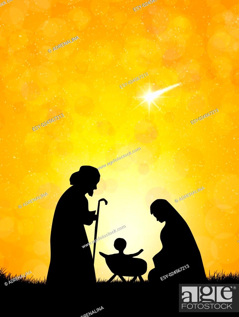 Christmas Nativity Scene Silhouette Stock Photo Picture And Low Budget Royalty Free Image Pic Esy 024567213 Agefotostock Nativity scene silhouette vectors (1,068). https www agefotostock com age en stock images low budget royalty free esy 024567213