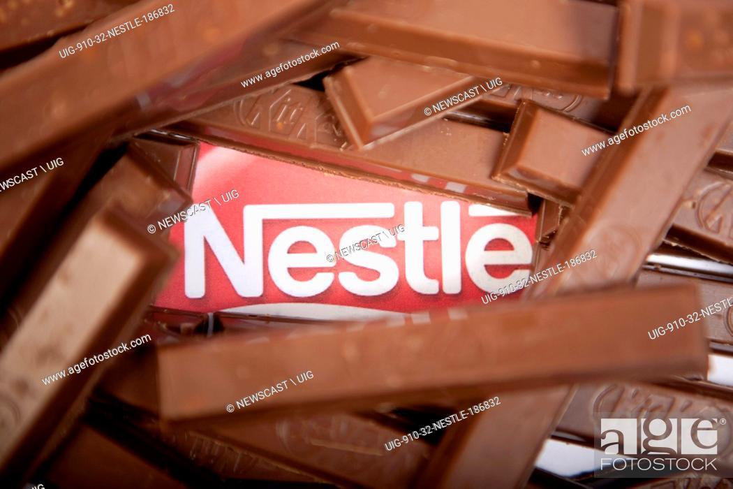 KitKat chocolate wafer bars, one of many Nestle products