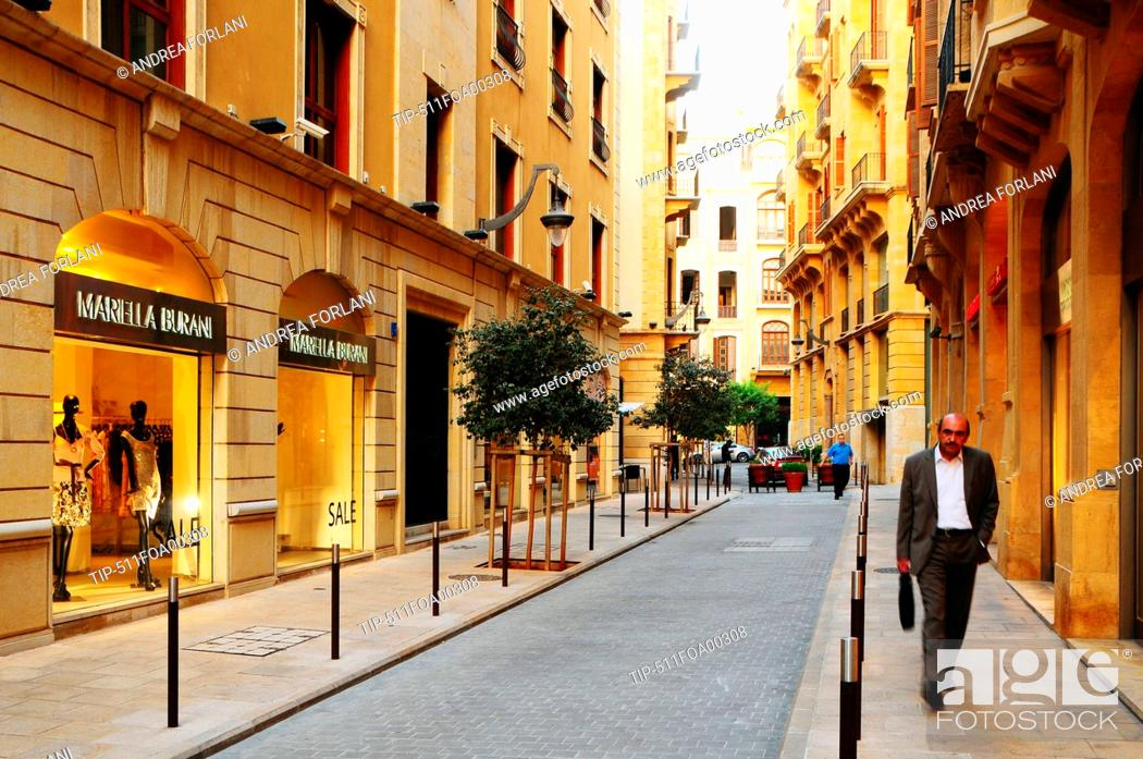 Lebanon, Beirut, El Moutrane street, Stock Photo, Picture