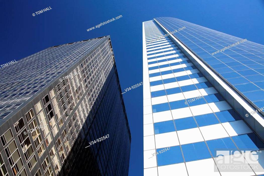 Stock Photo: Corporate building in Midtown New York Ciy.