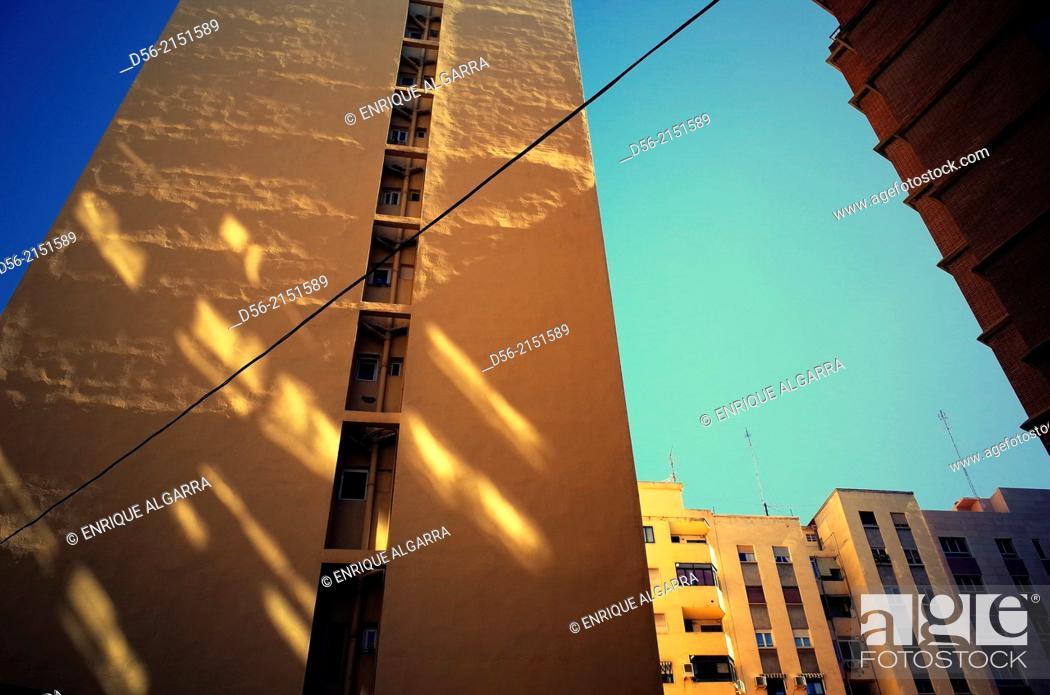 Stock Photo: Building, Valencia, Spain.