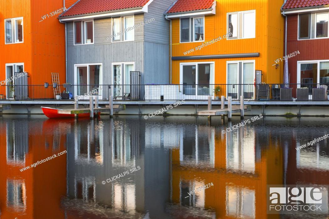 Stock Photo: Northern Europe, Holland, Netherlands, Amsterdam, Groningen district.