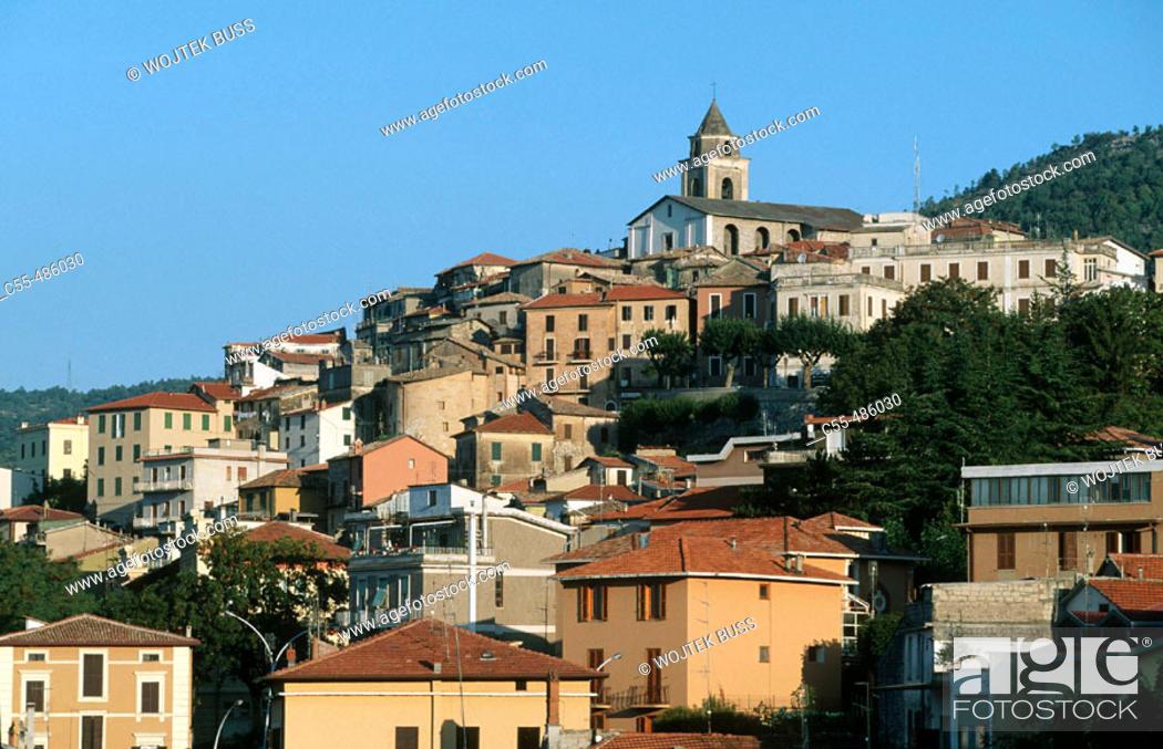 Stock Photo: Fiuggi spa town. Lazio, Italy.