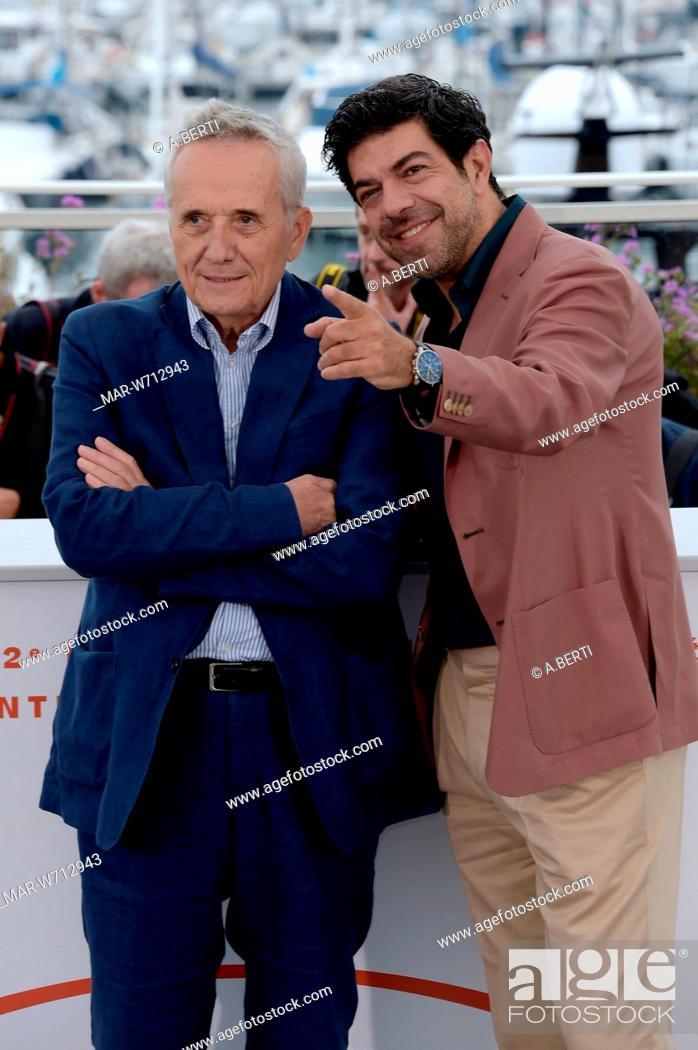 Imagen: Pierfrancesco Favino, Marco Bellocchio Cannes, 24-05-2019 72nd Cannes Film Festival.