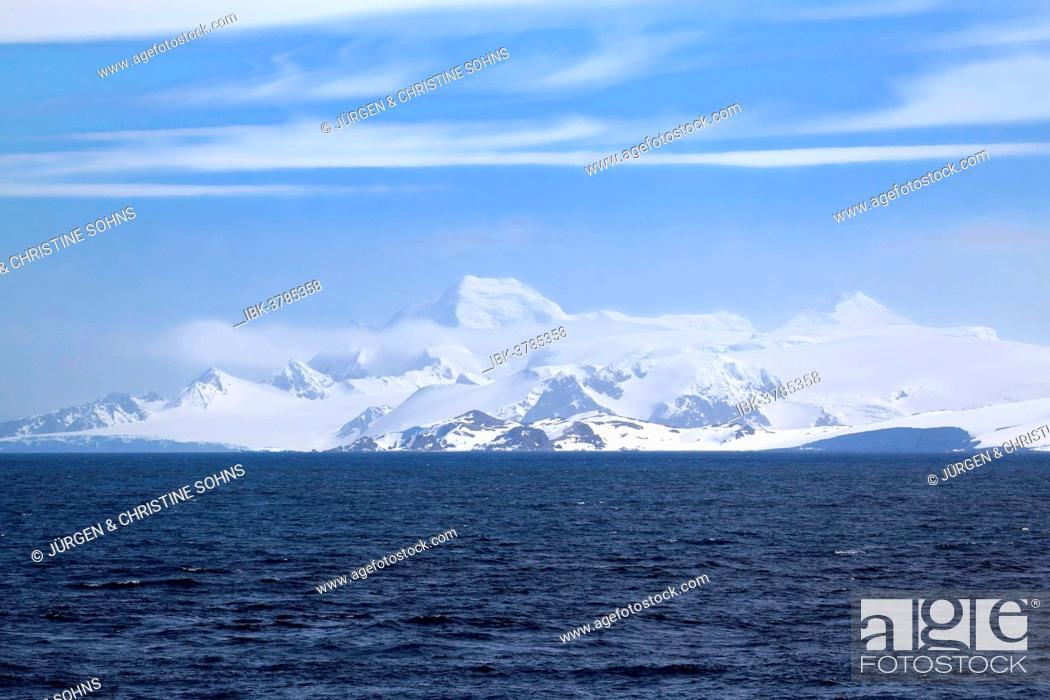 Imagen: Icy landscape, View Point, Weddell Sea, Antarctica.