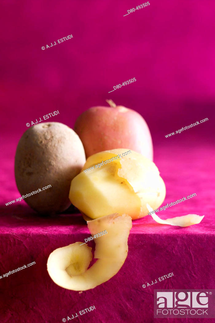 Stock Photo: Potatoes.
