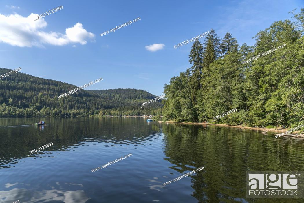 Titisee Lake Titisee Neustadt Black Forest Baden Wurttemberg Germany Stock Photo Picture And Rights Managed Image Pic X9u 3123899 Agefotostock