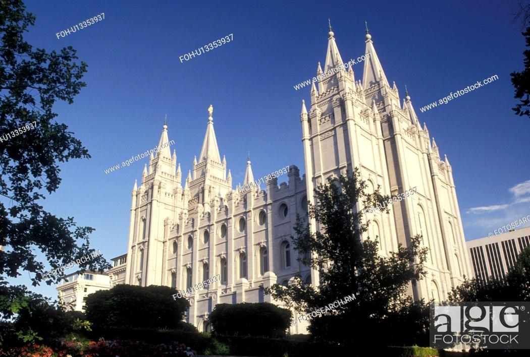 temple, mormons, Salt Lake City, UT, Utah, Mormon Temple in Salt