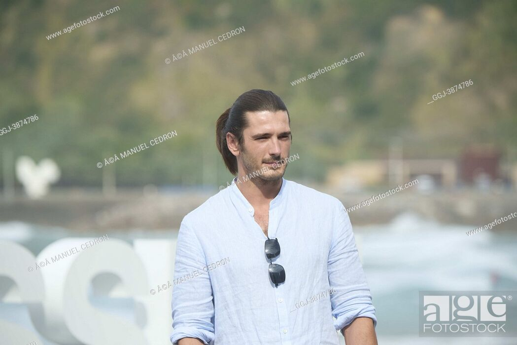 Stock Photo: Yon Gonzalez attended 'Once upon a time in Euskadi' Photocall during 69th San Sebastian International Film Festival at Kursaal Palace on September 22.
