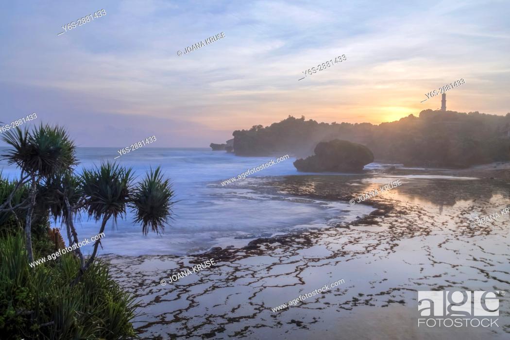 Stock Photo: Kukup Beach, Yogyakarta, Java, Indonesia, Asia.