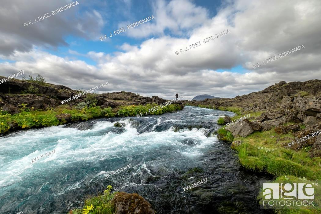 Stock Photo: Landmannalaugar area, Highland Iceland.