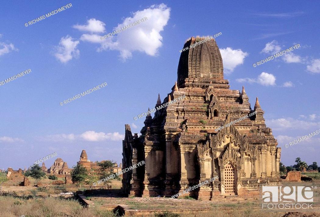 Stock Photo: Myanmar (Burma), Bagan (Pagan), Tayok Pye Temple.