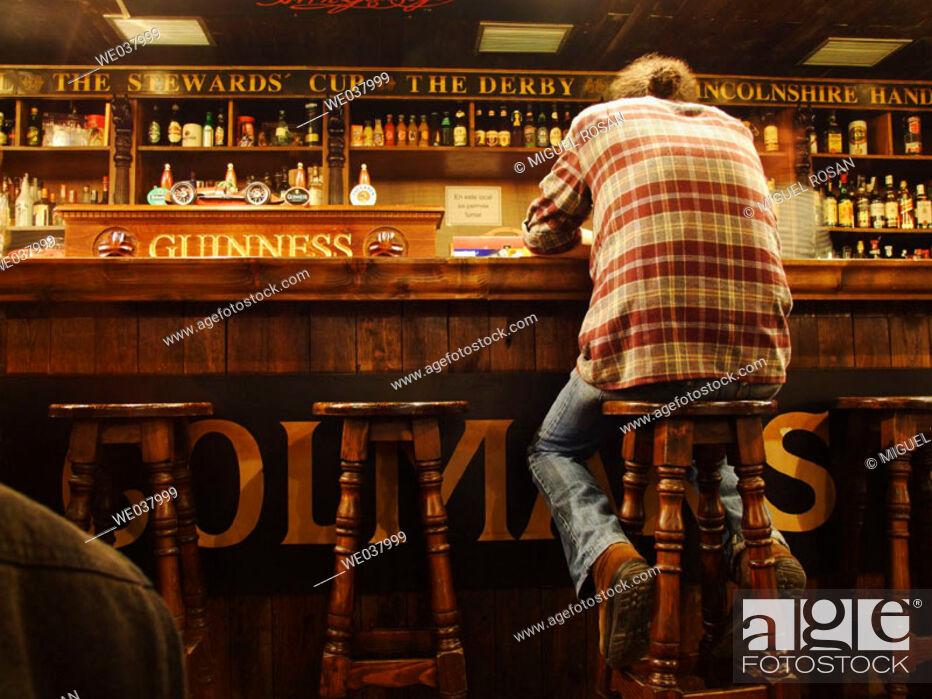 Stock Photo: Irish style pub.