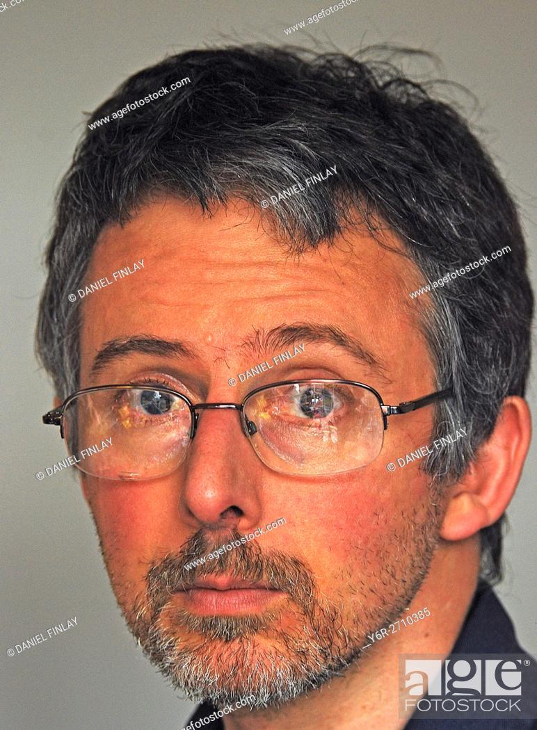 Stock Photo: Thoughtful man.