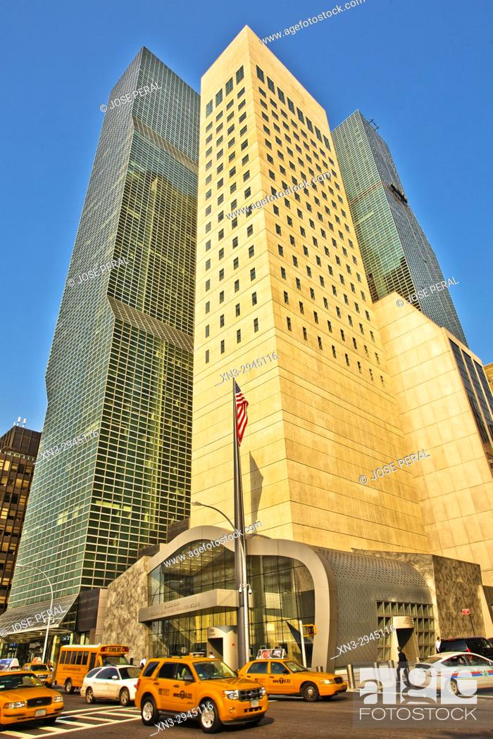 Millennium Hilton New York One Un Plaza United Nations Plaza Hotel Building Ronald H Stock Photo Picture And Rights Managed Image Pic Xn3 2945116 Agefotostock