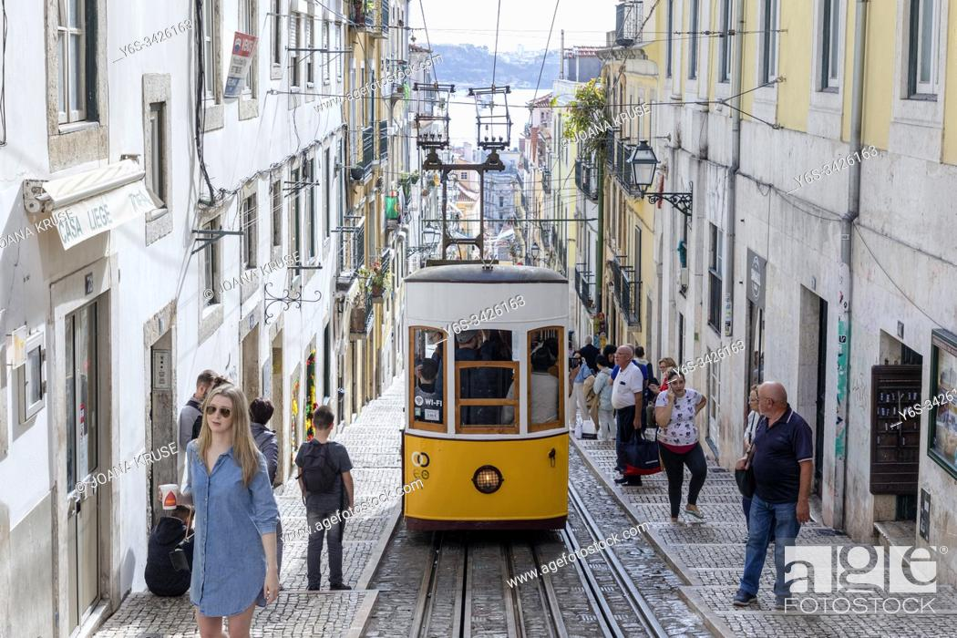 Photo de stock: Alfama, Lisbon, Portugal, Europe.
