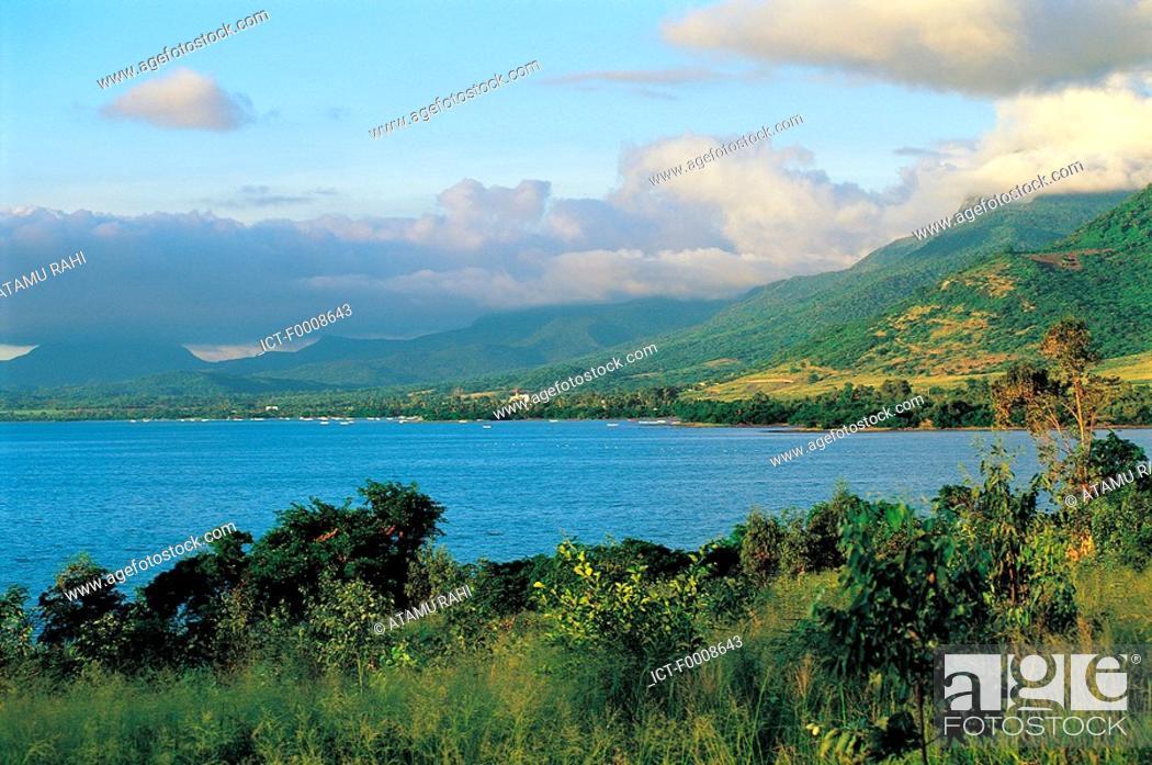 Stock Photo: Mauritius, coastal landscape.