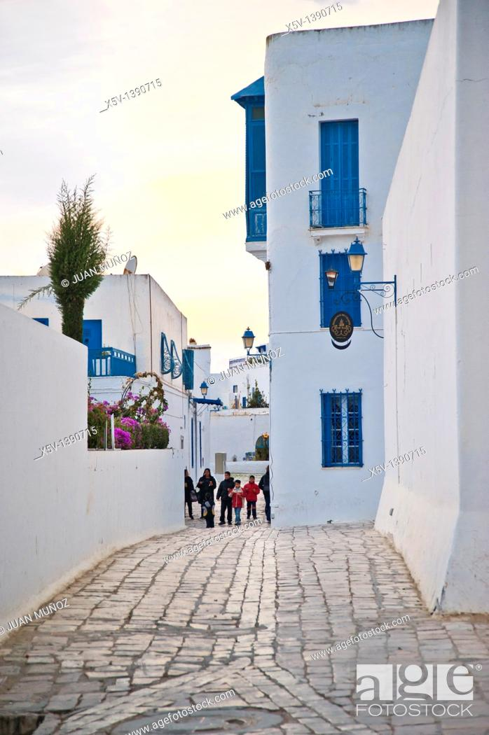 Stock Photo: Sidi Bou Said, Tunisia.