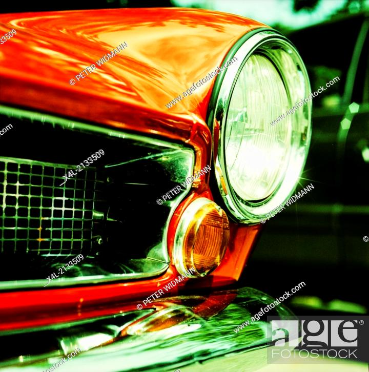 Stock Photo: Fiat 124 Coupe.