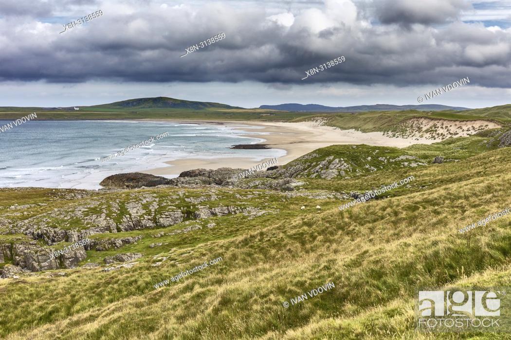 Stock Photo: Sea coast, Islay, Inner Hebrides, Argyll, Scotland, UK.