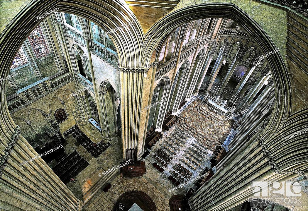 Stock Photo: Coutances Cathedral, La Manche, Normandy, France.