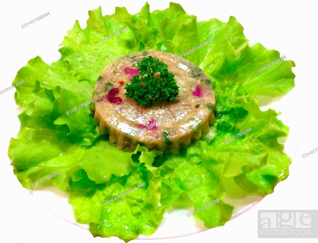 meat jelly snack, Stock Photo, Picture And Low Budget