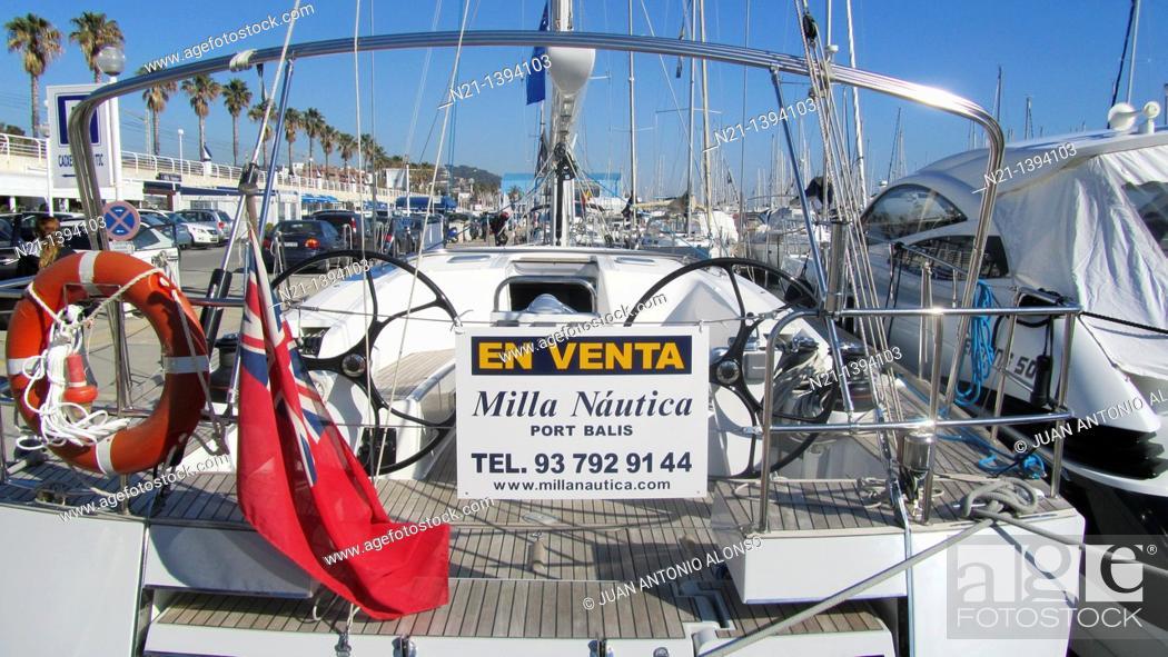 Yachts At Port Balis Sant Andreu De Llavaneres Barcelona