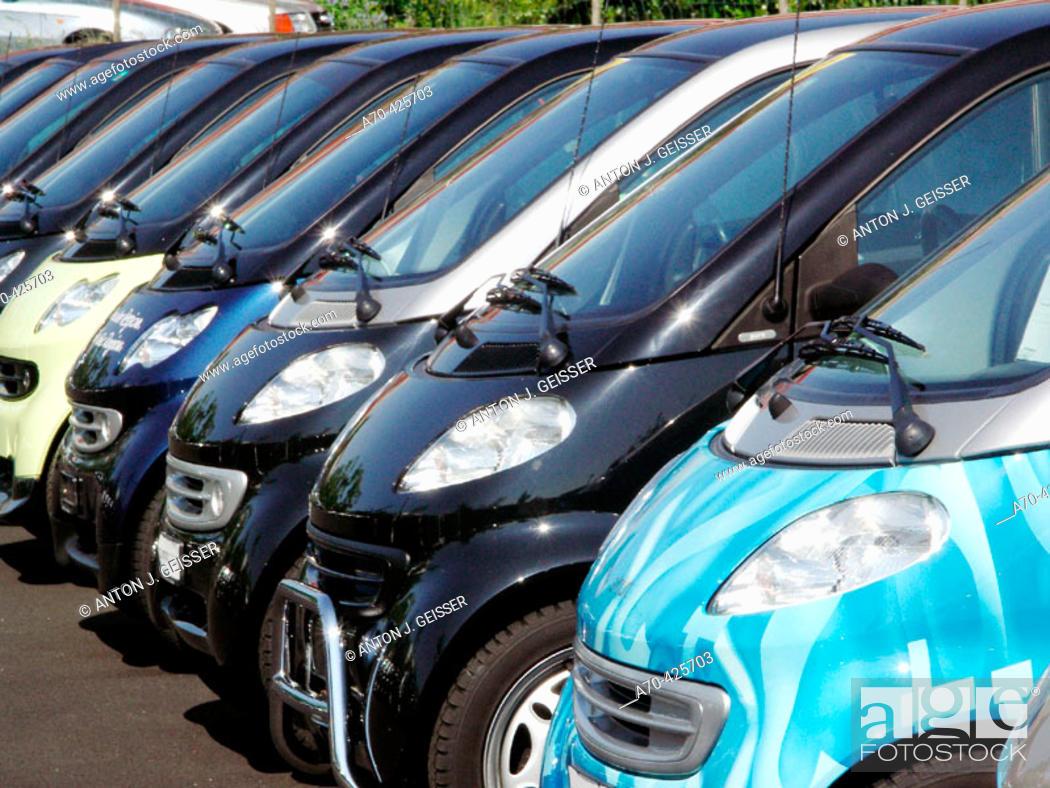 Stock Photo: Smart cars.