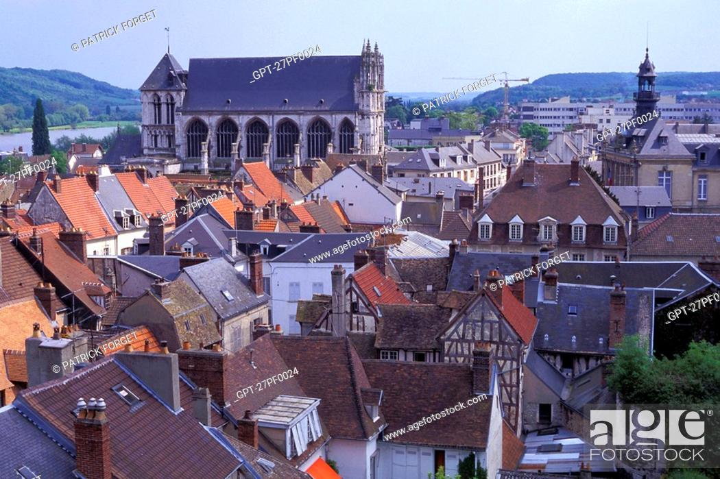 Imagen: THE TOWN OF VERNON, EURE 27, NORMANDY, FRANCE.