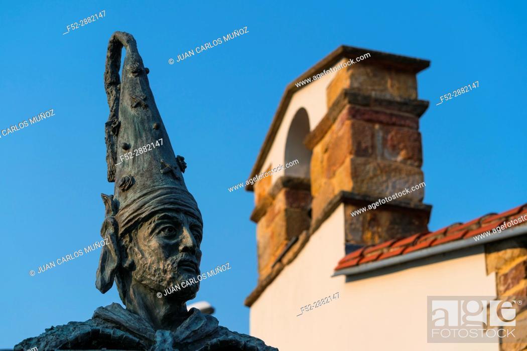 """Stock Photo: """"""""""""""""""""La Vijanera"""""""" Carnival in Silio. Molledo Municipality, Cantabria, Spain, Europe."""