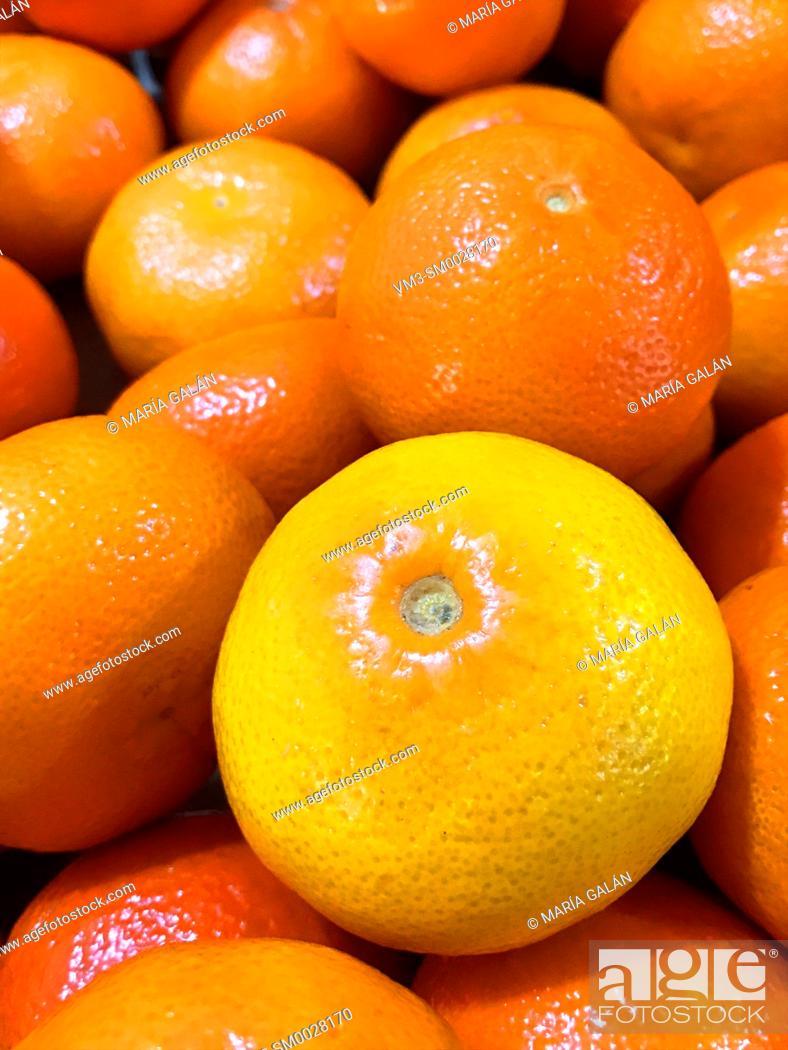 Stock Photo: Mandarins.