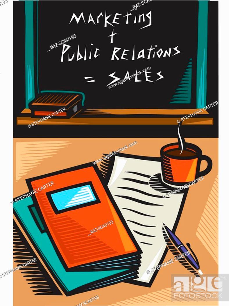 Stock Photo: sales seminar.