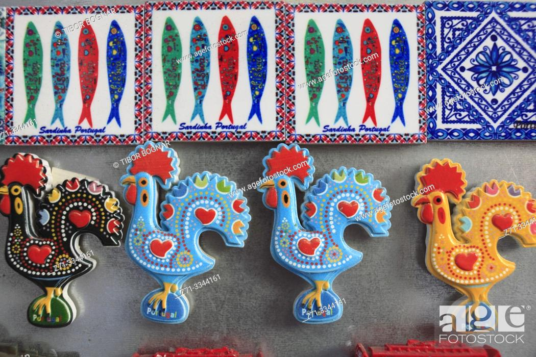 Stock Photo: Portugal, Lisbon, souvenir shop, handicraft, .
