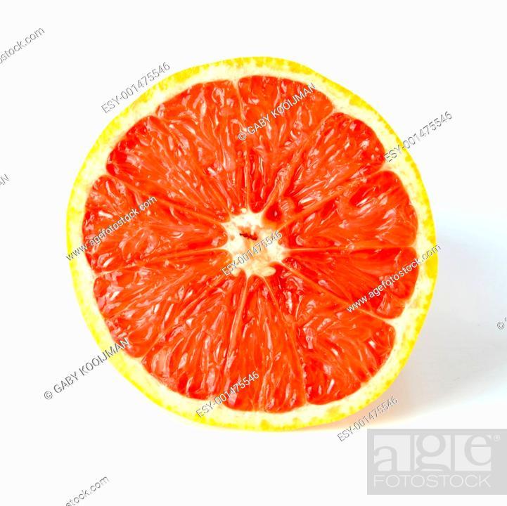 Stock Photo: grapefruit.