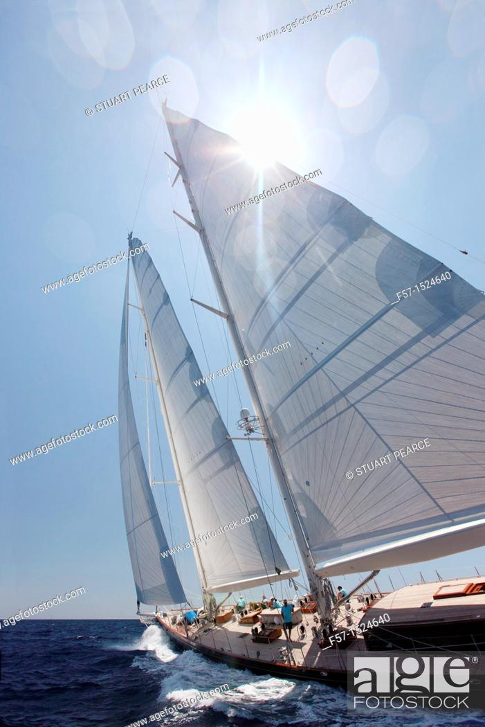 Stock Photo: This is us at the Superyacht Cup in Palma de Mallorca, Spain.