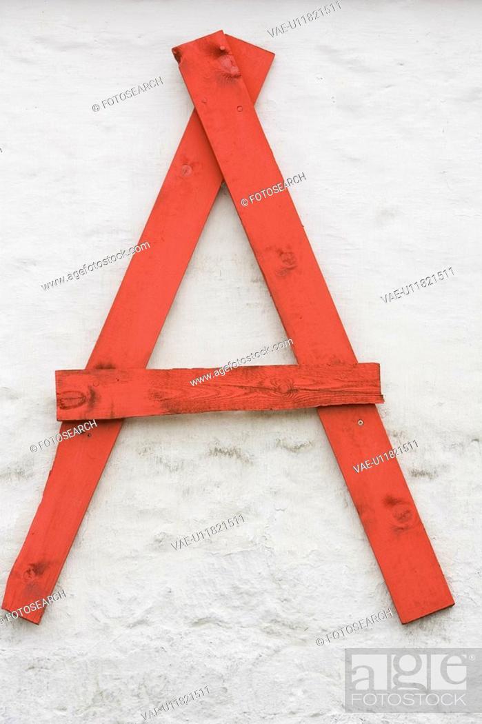 Stock Photo: Appearance, Cut Out, Arrangement, Alphabet.