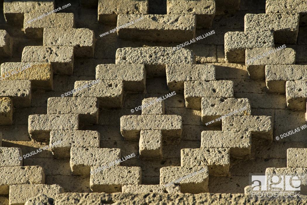 Imagen: Ruins at Mitla, Oaxaca, Mexico.